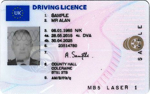 Drivers License ~ Corporate Buying policy