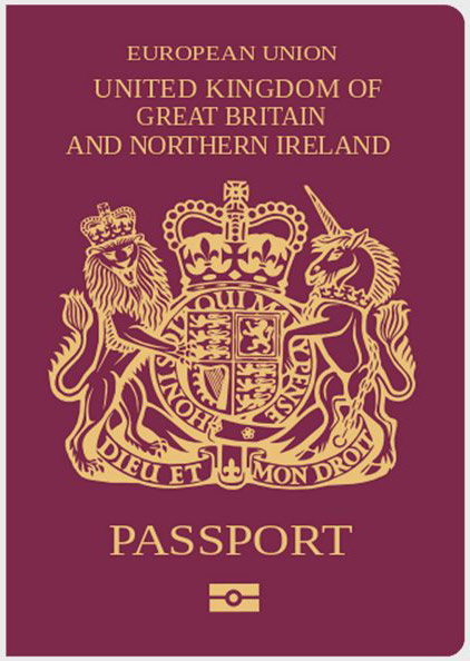 UK Passport ~ Corporate Buying policy